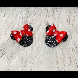 Minnie Mouse boutique pig tails